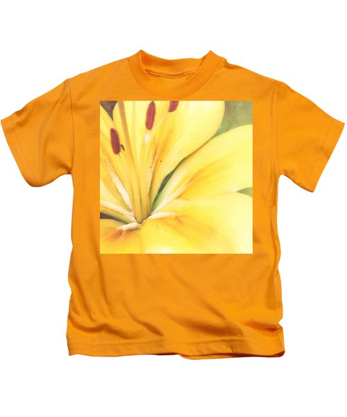 Citrine Blossom Kids T-Shirt