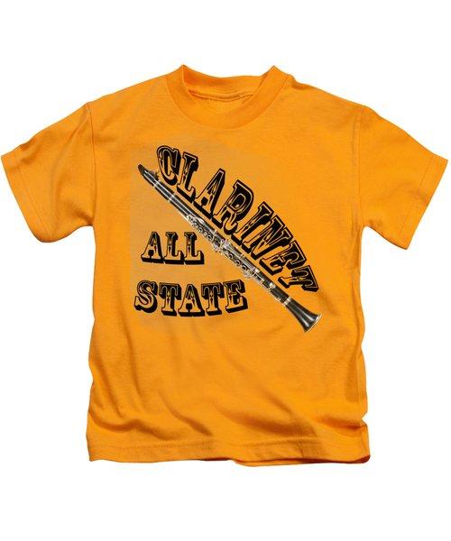 Clarinet All State Kids T-Shirt