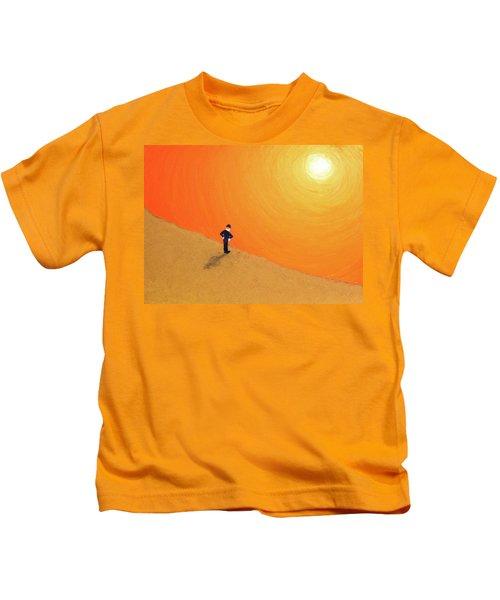 Close To The Edge Kids T-Shirt