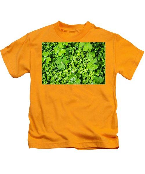 Lush Green Soothing Organic Sense Kids T-Shirt
