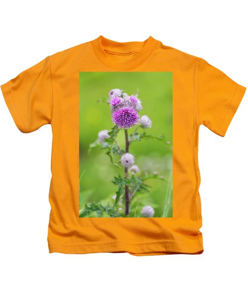 Cobweb Thistle Kids T-Shirt