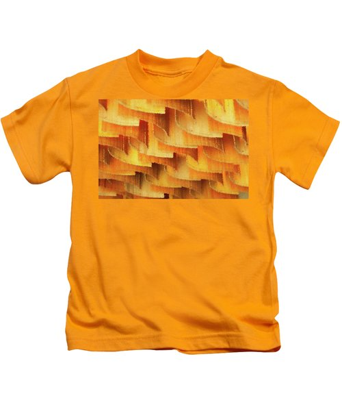 Colorful Bamboo Ceiling- China Kids T-Shirt