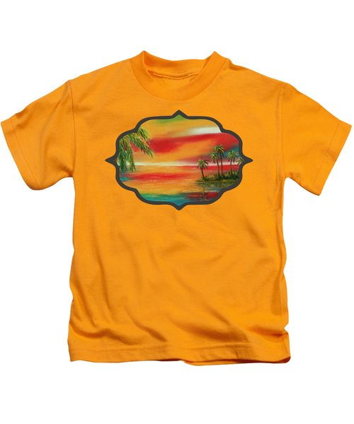 Colorful Paradise Kids T-Shirt