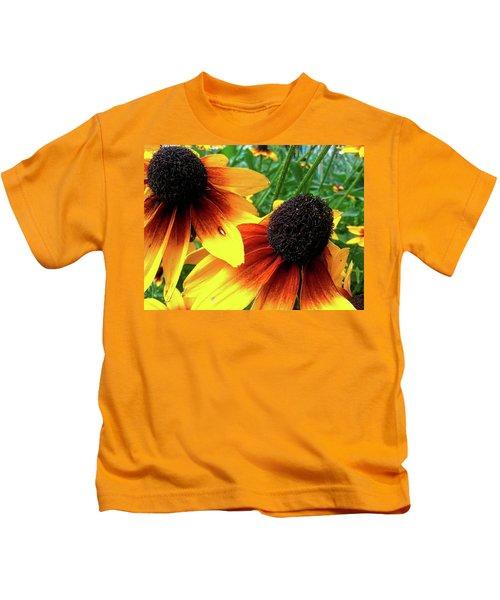 Coneflowers Kids T-Shirt