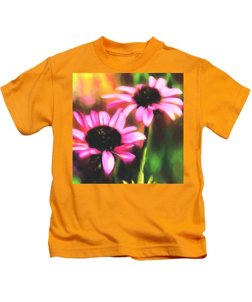 Coneflowers Kids T-Shirt