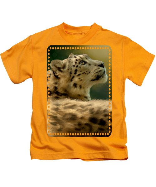Contemplation Kids T-Shirt