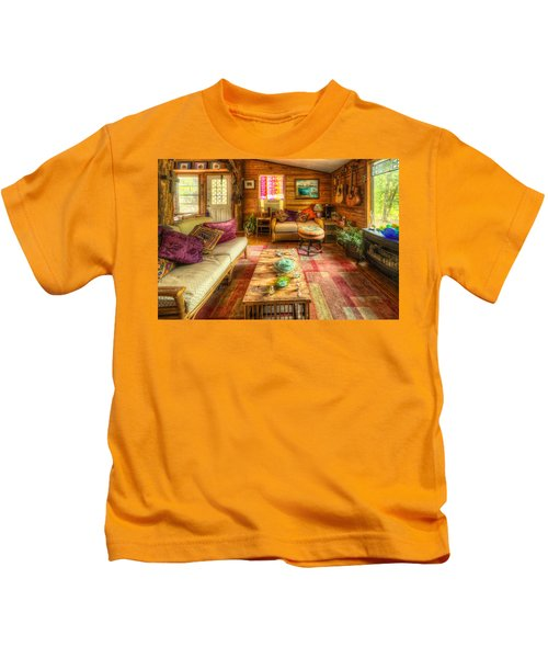 Country Cabin Kids T-Shirt