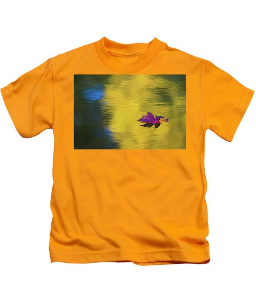 Crimson And Gold Kids T-Shirt