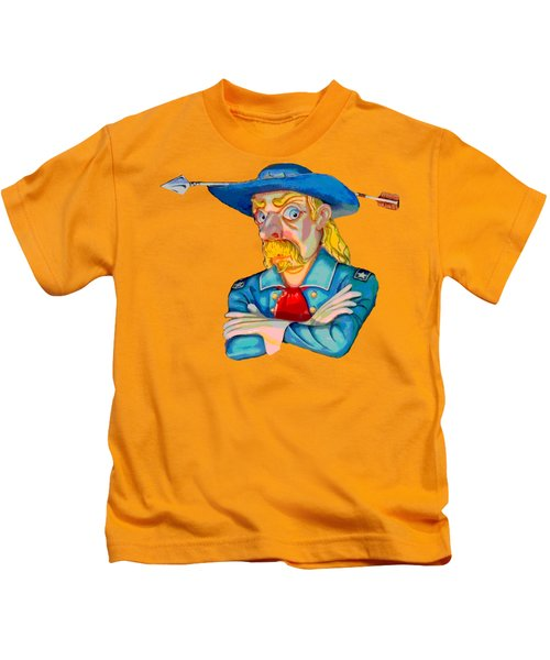 Custer's Last Stand Kids T-Shirt