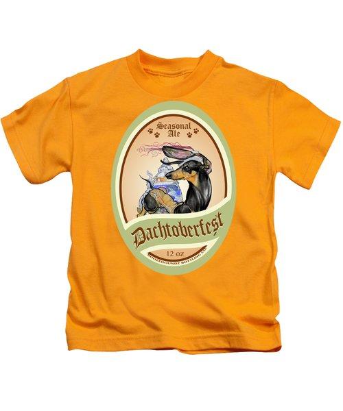 Dachtoberfest Seasonal Ale Kids T-Shirt