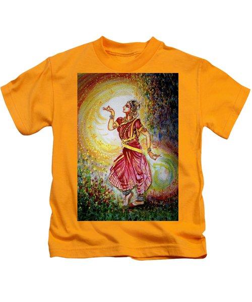 9275c2e4f7f Radha Krishna Dancing Kids T-Shirts   Fine Art America