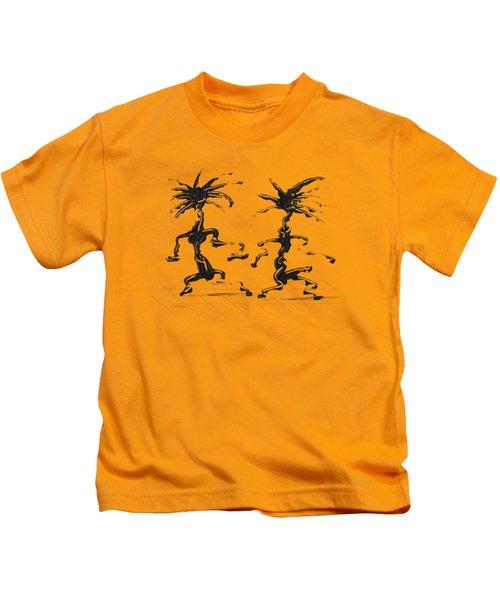 Dancing Couple 5 Kids T-Shirt