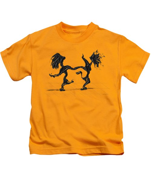 Dancing Couple 8 Kids T-Shirt