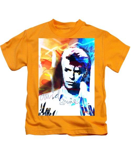 David 1985  By Enki  Kids T-Shirt