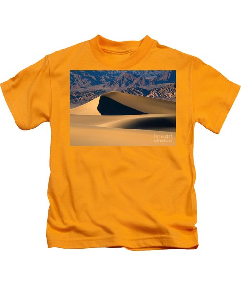 Desert Sand Kids T-Shirt by Mike Dawson