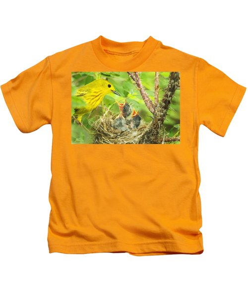 Dinner At The Warblers Kids T-Shirt