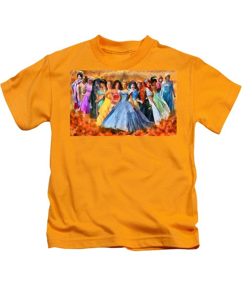 Disney's Princesses Kids T-Shirt