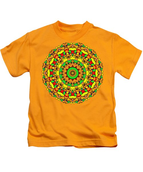 Doodle Mandala 2 Kids T-Shirt