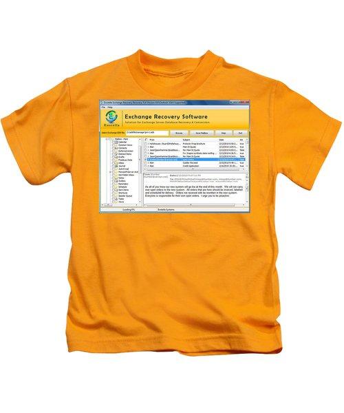 Edb To Ps T Software  Kids T-Shirt