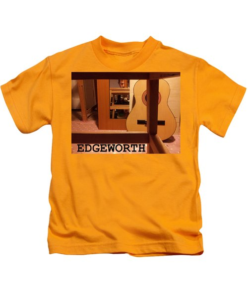 Edgeworth Acoustic Guitar Kids T-Shirt