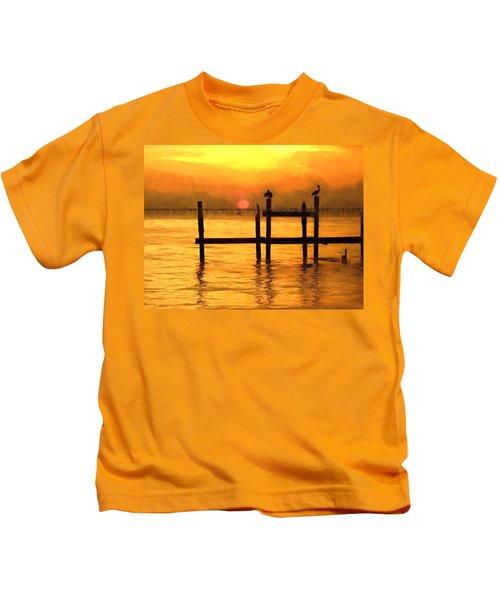Elements Kids T-Shirt by Kathy Bassett