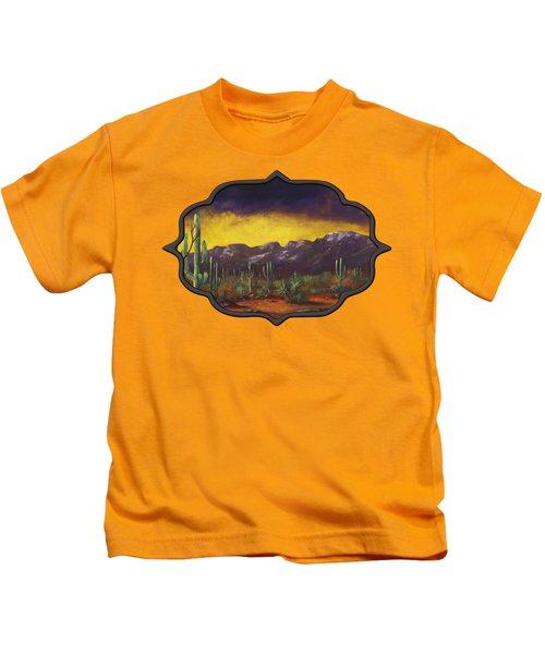 Evening Desert Kids T-Shirt