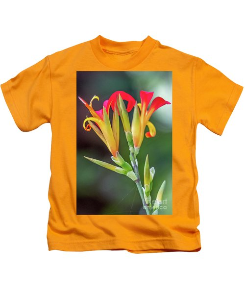 Exotic Flowers Kids T-Shirt
