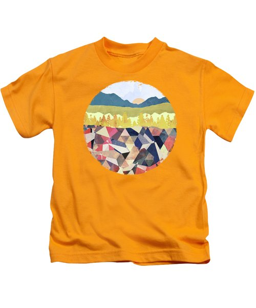 Fall Afternoon Light Kids T-Shirt