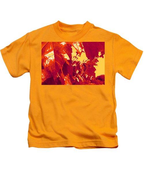 Fall Leaves #13 Kids T-Shirt