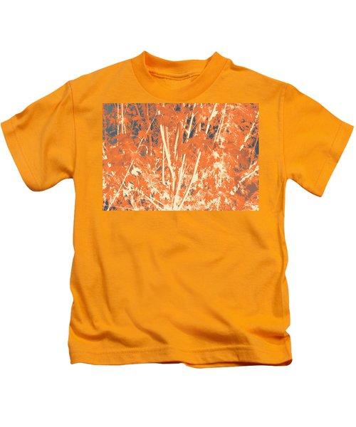 Fall Leaves #3 Kids T-Shirt