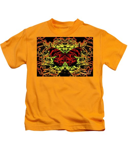 Fear Of The Red Admirals Kids T-Shirt
