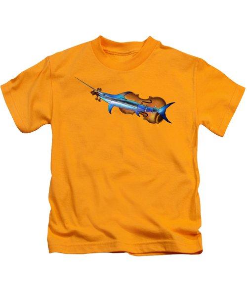 Fisholin V1 - Instrumental Fish Kids T-Shirt