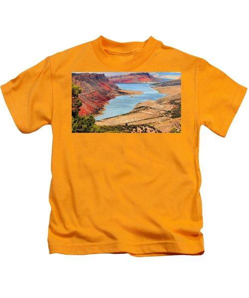 Flaming Gorge Kids T-Shirt