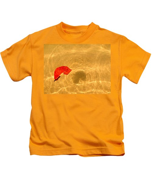 Floating In Gold Kids T-Shirt