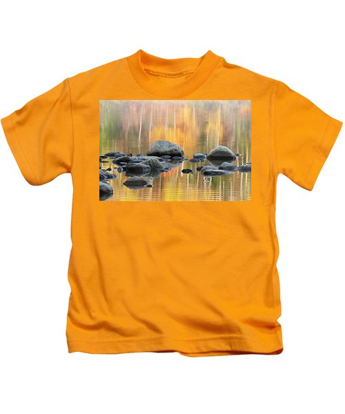 Floating Rocks Kids T-Shirt