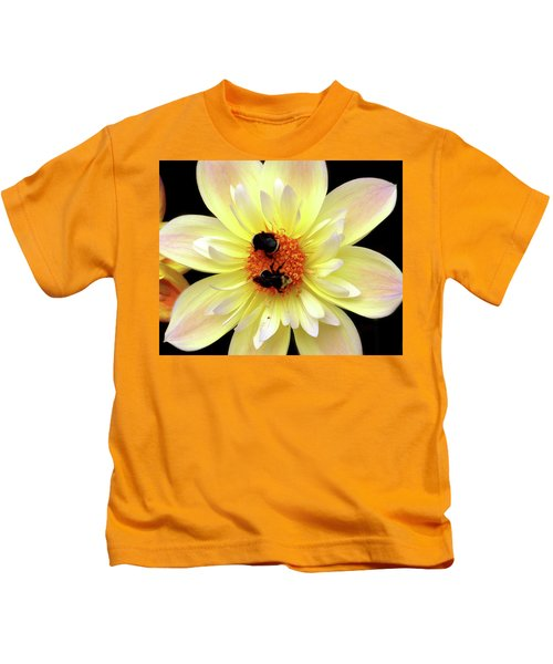 Flower And Bees Kids T-Shirt