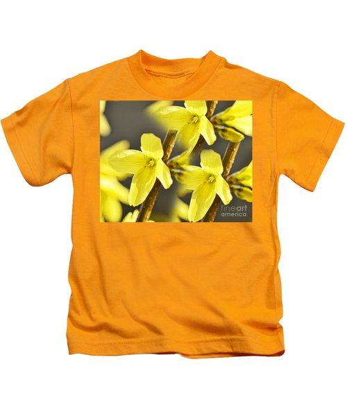 Forsythia Three Kids T-Shirt