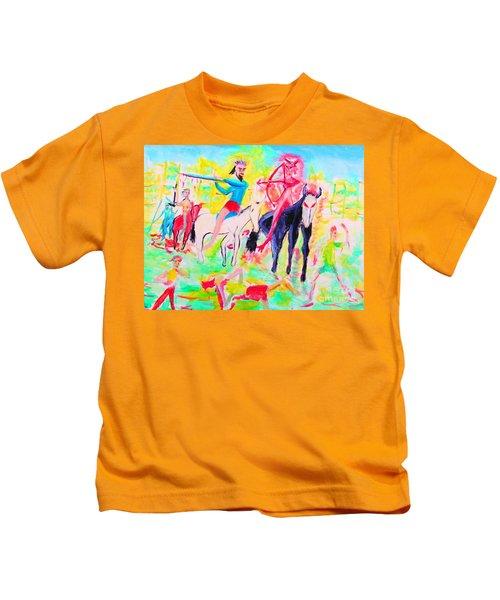 Four Horsemen Kids T-Shirt