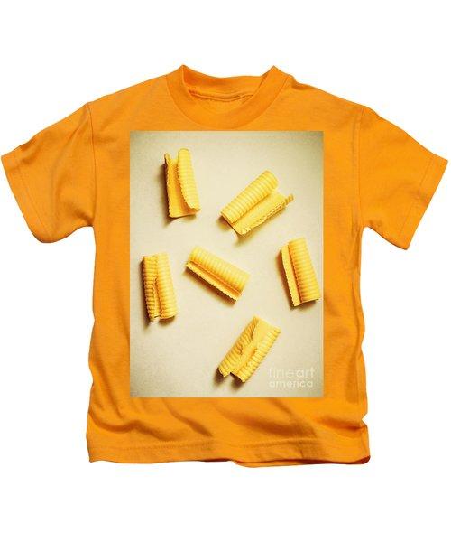 Fresh Butter Curls On Table Kids T-Shirt