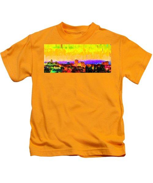Fresno Skyline 106 - Da Kids T-Shirt