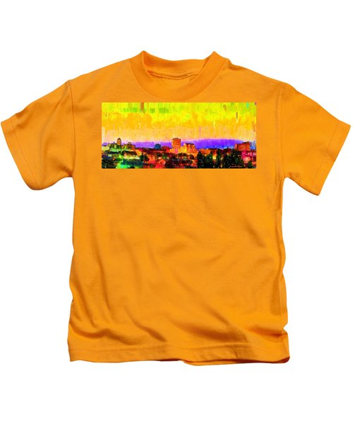 Fresno Skyline 106 - Pa Kids T-Shirt