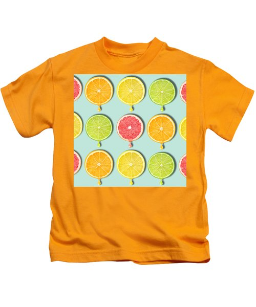 Fruity Kids T-Shirt by Mark Ashkenazi
