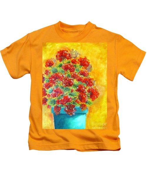Geranium Kids T-Shirt