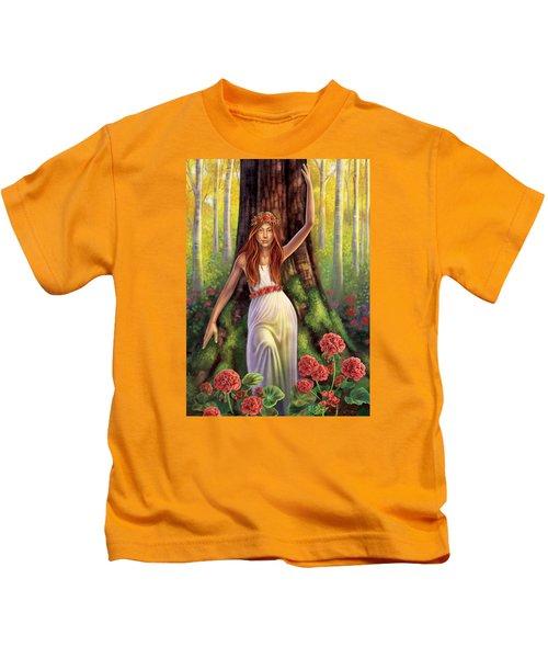 Geranium - Resilience Kids T-Shirt