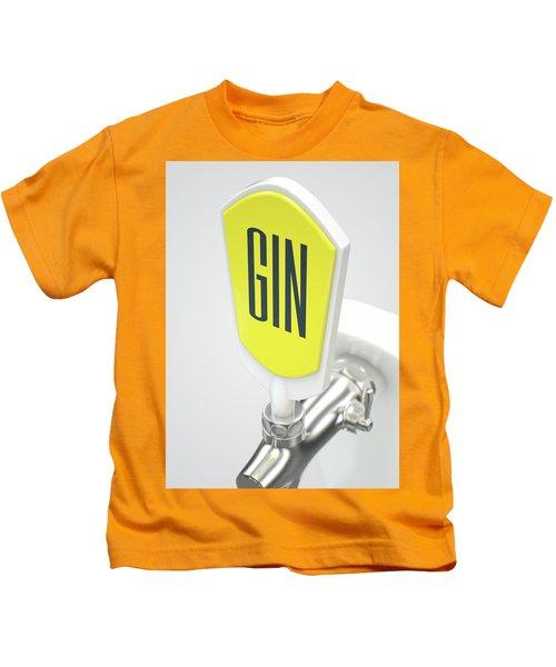 Gin Draught Spigot Kids T-Shirt