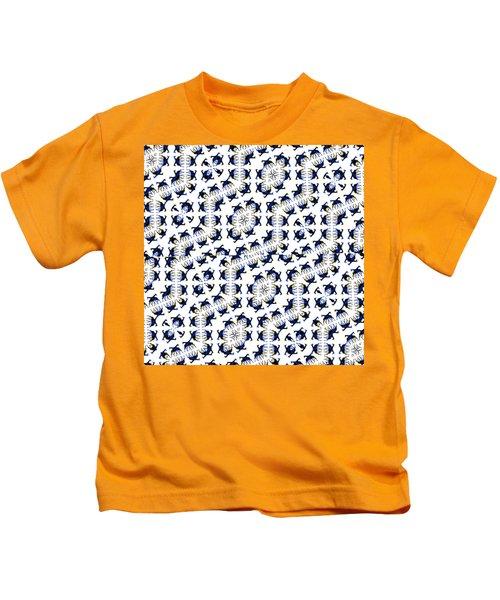 Giraffe Abstract 02 Kids T-Shirt