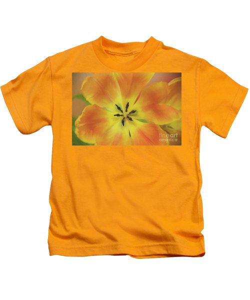 Gold Tulip Explosion Kids T-Shirt
