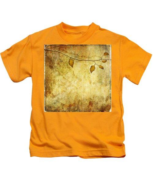 Golden Branch Of Hope  Kids T-Shirt