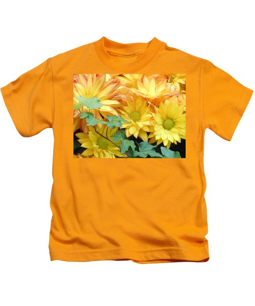 Golden Mums And Ivy Kids T-Shirt