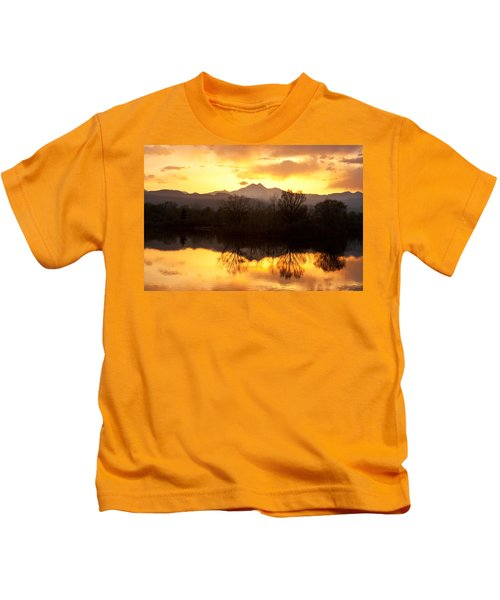 Golden Ponds Longmont Colorado Kids T-Shirt